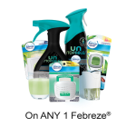 New Febreze Printable Coupon –  $1 Off Any Febreze Product On pgEveryDay