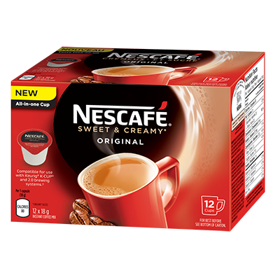 Nescafe Sweet & Creamy Voucher –  $3 Off Any Nescafe Sweet & Creamy Product On UniPrix