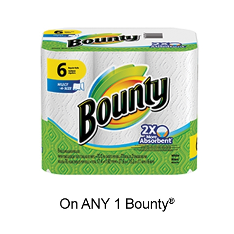 Save: Get Bounty Coupon To Print For $0.50