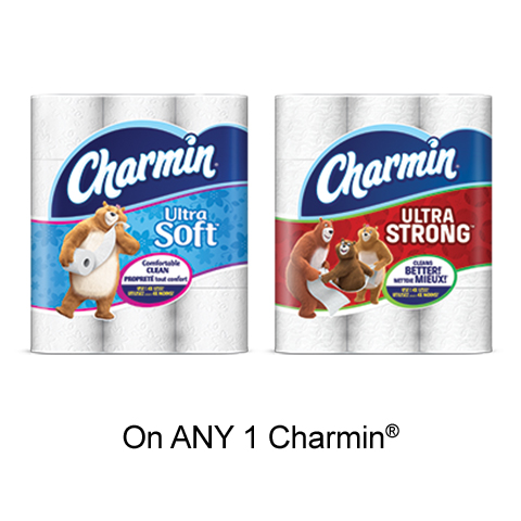 Get Charmin Printable Voucher –  $1 Off Any Charmin Product On pgEveryDay