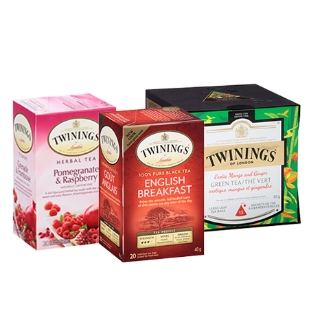 Printable Voucher To Save $0.75 On Twinings Teas Products