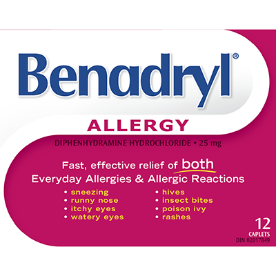 New  benadryl Printable Coupon –  $4 Off Any  benadryl Product On SmartSource