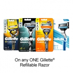 Free Printable Voucher On Gillette