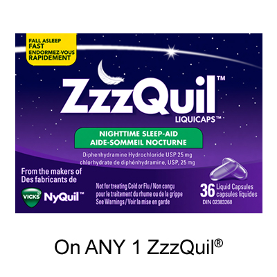 Get Zzzquil Printable Coupon –  $1 Off Any Zzzquil Product On SmartSource
