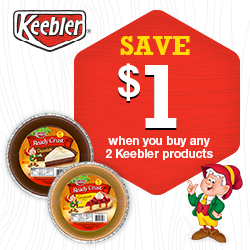Save: Get New Keebler Coupon To Print For $1
