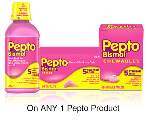 Get Pepto-bismol Coupon To Print For $1