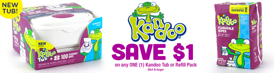 Kandoo Wipes Coupon To Claim For $1 On Walmart