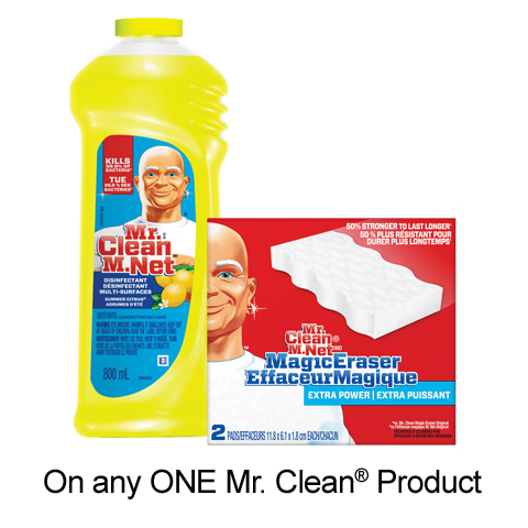 pgEveryDay: Free Printable Voucher On Mr. Clean