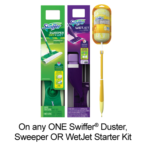Printable Voucher To Save $3 On Swiffer Products
