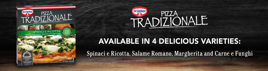 Get Dr. Oetker Tradizionale Pizza Coupon –  $1 Off Any Dr. Oetker Tradizionale Pizza Product On Walmart
