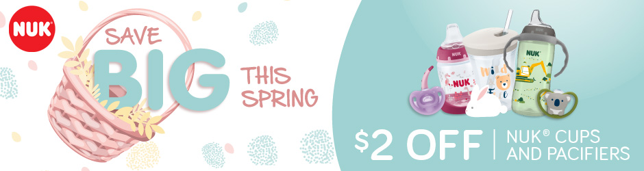 New Printable Voucher To Save $2 On Nuk Pacifier Or Nuk Cup Products