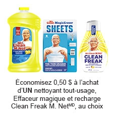 Free Mr. Clean Mail-in Rebate Offer: $0.50 Cash Back !