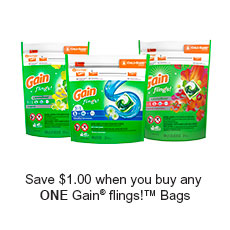 SmartSource: Get Gain Voucher –  $2 Off Any Gain Product