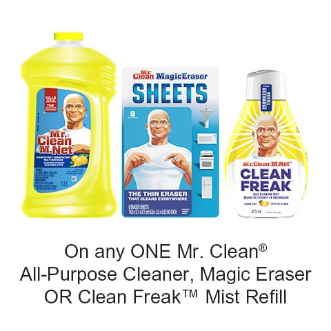 Get This Free Printable Coupon On Mr. Clean By UniPrix