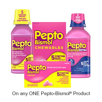 Print This Pepto-bismol Voucher And Save $1.5 !