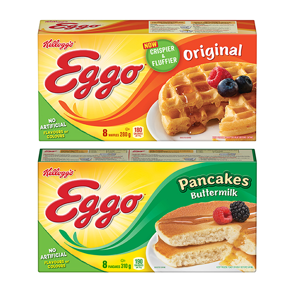 Save: New Kellogg's Eggo Waffles And Pancakes Mail Coupon To Save $1