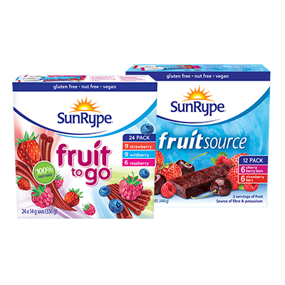 SmartSource: Get Sunrype Printable Voucher –  $1 Off Any Sunrype Product