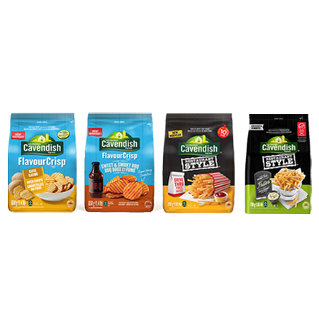 Get Cavendish Farms Printable Coupon –  $1 Off Any Cavendish Farms Product On SmartSource