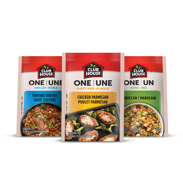 Save: Club House One Sheet Pan. Skillet Or Bowl Seasoning Mix Mail Coupon –  $0.50 Off Any Club House One Sheet Pan. Skillet Or Bowl Seasoning Mix Product