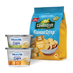 New Cavendish Farms And Kraft Philadelphia Dips Voucher –  $2.50 Off Any Cavendish Farms And Kraft Philadelphia Dips Product On Save