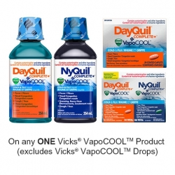 Save: New Vicks Printable Coupon –  $3 Off Any Vicks Product