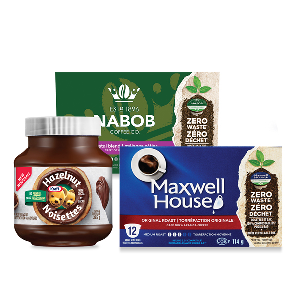 Get New Maxwell House. Nabob And Kraft Hazelnut Spread Voucher To Claim For $2 On Save