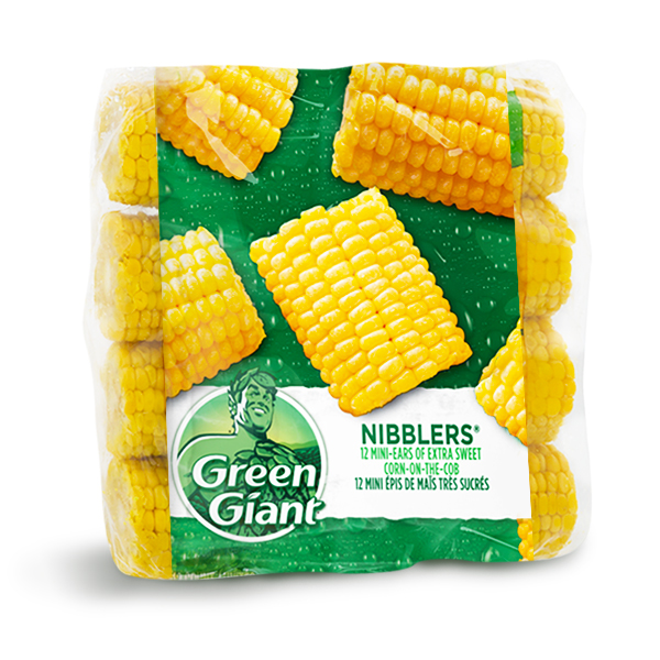 Green Giant Nibblers Extra Sweet Frozen Corn-on-the-cob Coupon –  $1 Off Any Green Giant Nibblers Extra Sweet Frozen Corn-on-the-cob Product