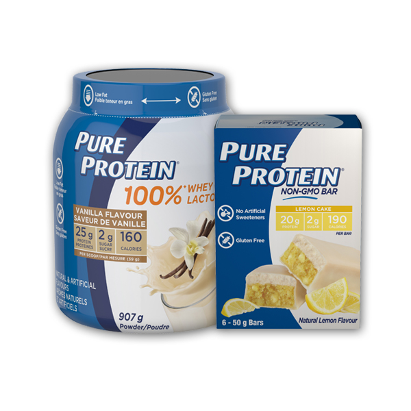 Walmart: Pure Protein Printable Coupon –  $1 Off Any Pure Protein Product