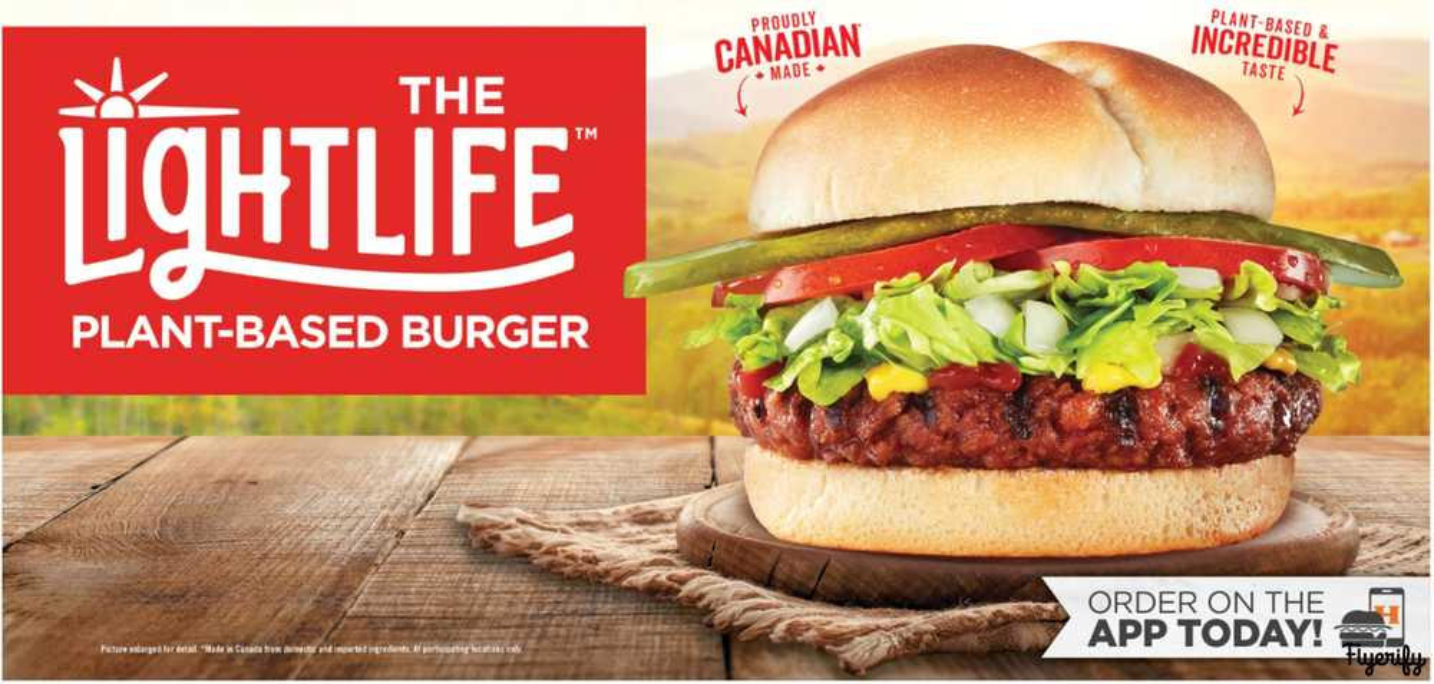 Harvey'S Canada NewLightlife Plant-Based Burger 06 September 2019 To 31 January 2024
