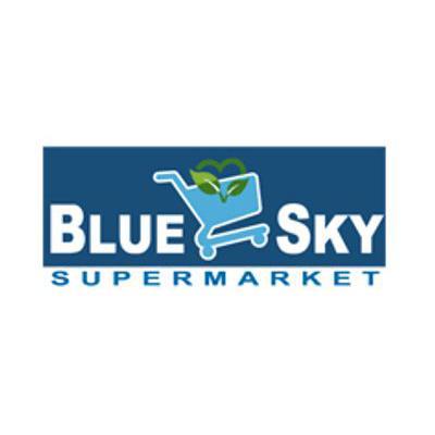 Blue Sky Supermarket Flyer - Circular - Catalog