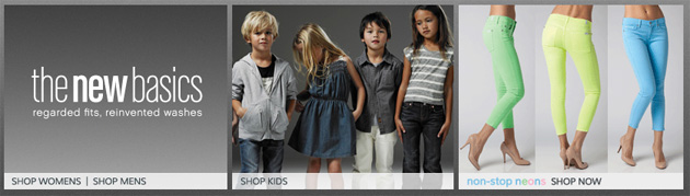 7 For All Mankind Online Weekly Flyer