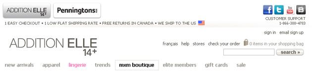 Addition Elle Online Store