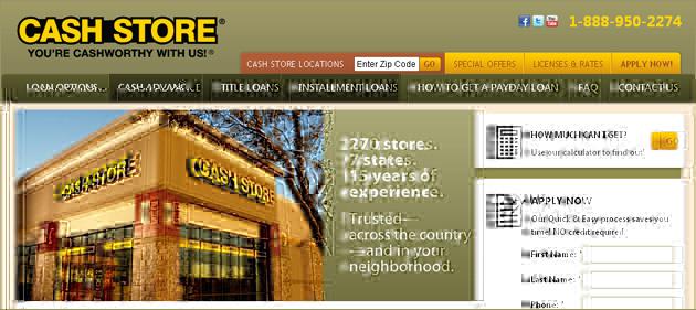 Cash Store Online