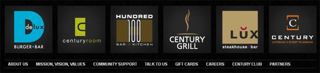 Century Hospitality Group Online