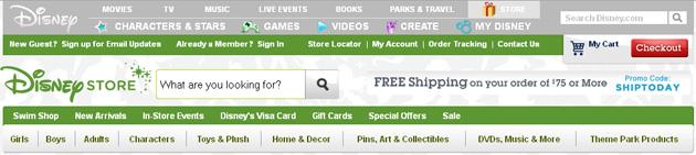 Disney Store Online