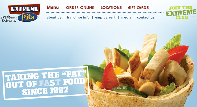 Extreme Pita Online Restaurant