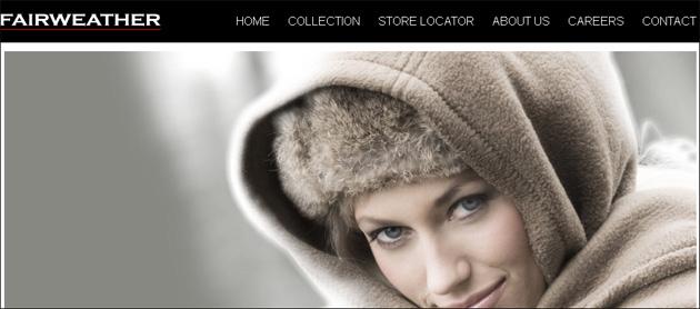 Fairweather Online Store