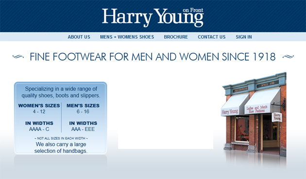 Harry Young Shoes Online