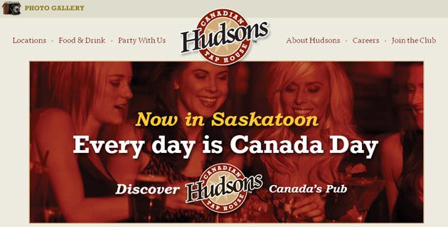 Hudsons Pub Online