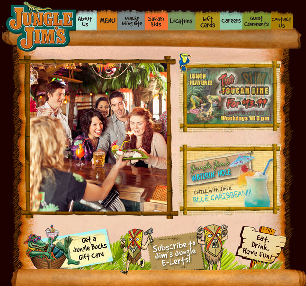 Jungle Jim S Restaurant Online