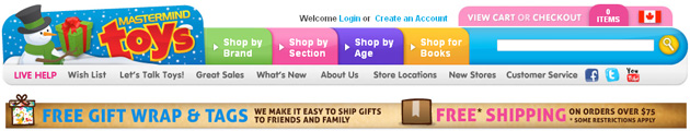 Mastermind Toys Online Flyer