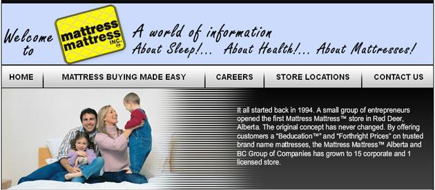 Mattress Mattress Online Flyer