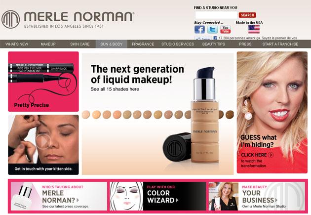 Merle Norman Cosmetics Online