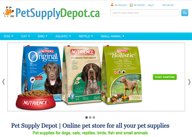 Pet Supply Depot Online