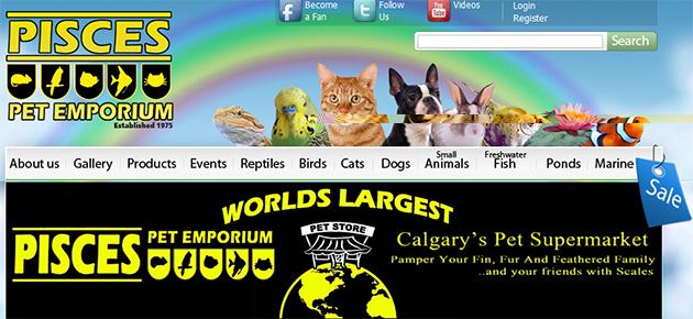 Pisces Pet Emporium Online