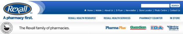 Rexall Pharmacy Weekly Flyer Online
