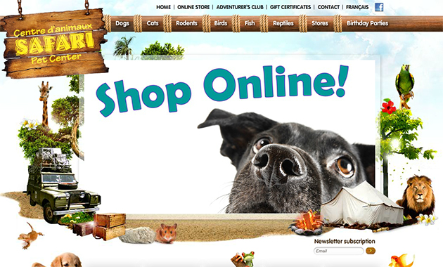 Safari Pet Center Online