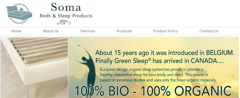 Soma Matress Store Online Flyer