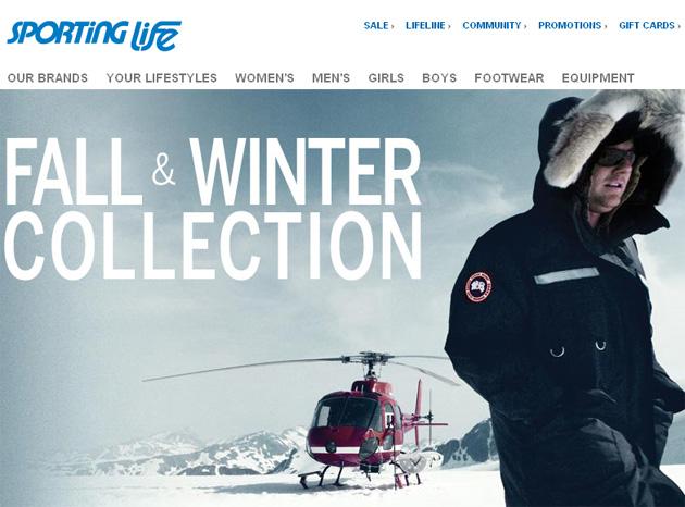 Sporting Life Sport Clothing Equipment Online