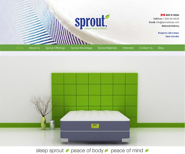 Sprout Natural Sleep Products Online